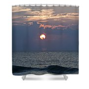 Ball Of Fire Shower Curtain