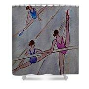 Ballerina Studio Shower Curtain