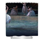 Ballerinas At The Vaganova Academy Shower Curtain