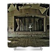 Ballerinas Ballad Two Shower Curtain