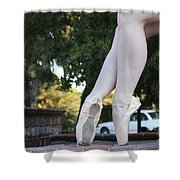 Ballet Legs Shower Curtain