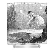 Ballet: Ondine, 1843 Shower Curtain