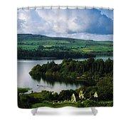 Ballindoon Abbey, Lough Arrow, Co Shower Curtain