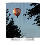 Balloon-7081 Shower Curtain