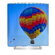 Balloon Fiesta Shower Curtain