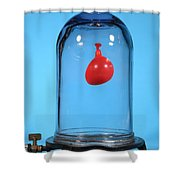 Balloon In A Vacuum, 1 Of 6 Shower Curtain