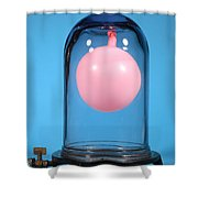 Balloon In A Vacuum, 2 Of 4 Shower Curtain