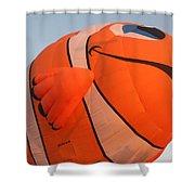 Balloon-nemo-7655 Shower Curtain
