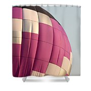 Balloon-purple-7462 Shower Curtain