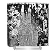 Ballroom, C1900 Shower Curtain
