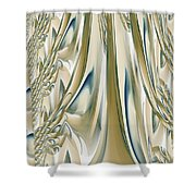 Ballroom Gown Shower Curtain by Maria Urso
