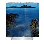 Ballycotton, County Cork, Ireland Shower Curtain