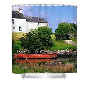 Ballycrovane, Beara Peninsula, Co Cork Shower Curtain