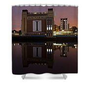 Baltic At Night Shower Curtain