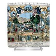 Baltimore: 15th Amendment Shower Curtain