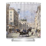 Baltimore, 1856 Shower Curtain