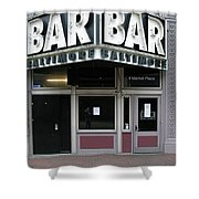 Baltimore Bar Shower Curtain