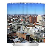Baltimore Nw Shower Curtain