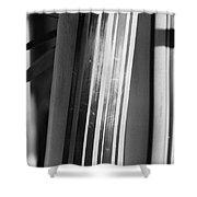 Bamboo Closeup Shower Curtain