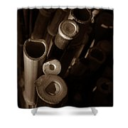 Bamboo Poles 2 Shower Curtain