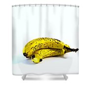 Banannas About To Turn Shower Curtain