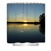 Band Of Gold Shower Curtain