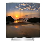 Bandon Scenic Shower Curtain by Jean Noren
