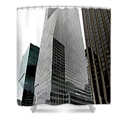 Bank Of America Shower Curtain by S Paul Sahm