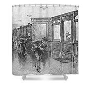 Bank Snatcher, 1890 Shower Curtain