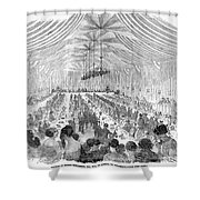 Banquet, 1851 Shower Curtain