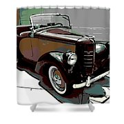 Bantam Speedster Shower Curtain