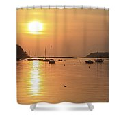 Bantry Bay, Bantry, Co Cork, Ireland Shower Curtain by Peter Zoeller