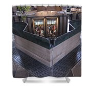 Baptismal Font Salisbury Cathedral - England Shower Curtain