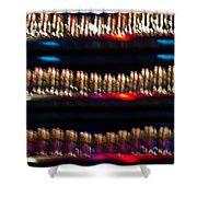 Bar Colors Shower Curtain