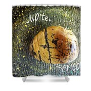 Barack Obama Jupiter Shower Curtain by Augusta Stylianou