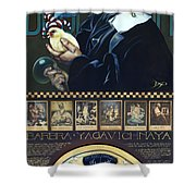 Barbra Yagavitchnaya Shower Curtain
