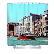 Barca Di Venezia Shower Curtain
