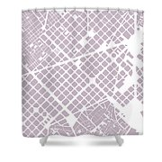 Barcelona Fragment Shower Curtain
