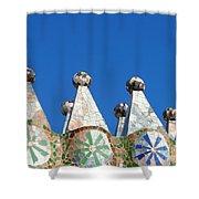 Barcelona Impression 2 Shower Curtain