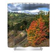 Bargoed Woodland Park Shower Curtain