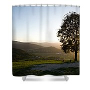 Barje View Shower Curtain