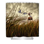 Barley And The Pump Shower Curtain