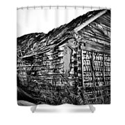 Barn 643 Shower Curtain