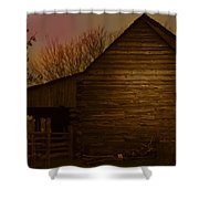 Barn After Lightroom Shower Curtain