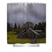 Barn And Sky Shower Curtain