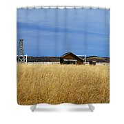 Barn And Windmill Stand Shower Curtain