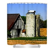 Barn Out Back Shower Curtain