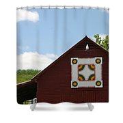 Barn Quilt - 2 Shower Curtain