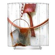 Barn Wall Shower Curtain