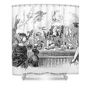 Barnums Museum, 1853 Shower Curtain